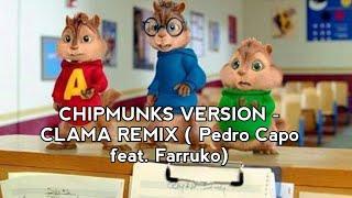 CHIPMUNKS - CALMA REMIX ( Pedro Capo - Calma feat. Farruko)