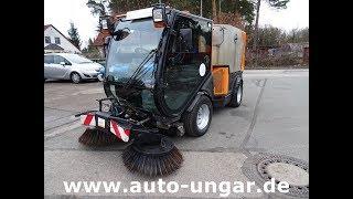 Nilfisk Cityranger JungoJet 3500 Baujahr 2011 Kleinkehrmaschine 4x4 www.auto-ungar.de