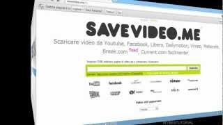 SAVEVIDEO ME Salvare video senza alcun software o plug in