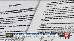 I-Team: Quit claim deed fraud on the rise in Tampa Bay