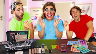 Best Friend Does My Makeup! (Face Reveal Gone Wrong)