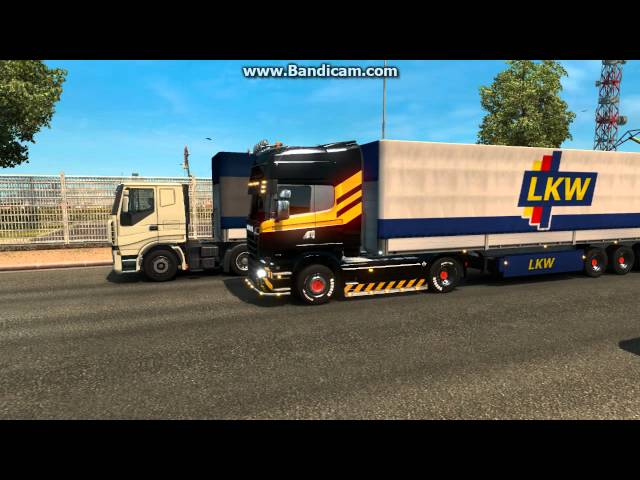 Euro Truck 2 - Pegando Carga World of Trucks - GTX660