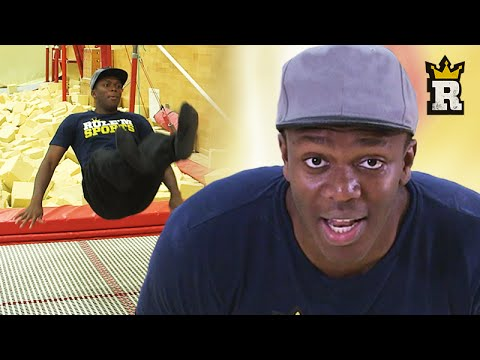 Thumbnail: KSI vs Trampoline: The Olympic Routine | Rule'm Sports