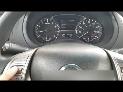 2015+ Nissan Altima - How to Reset Maintenance | Doovi
