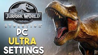 Jurassic World Evolution PC ULTRA Settings Gameplay + Performance (GTX 1080)
