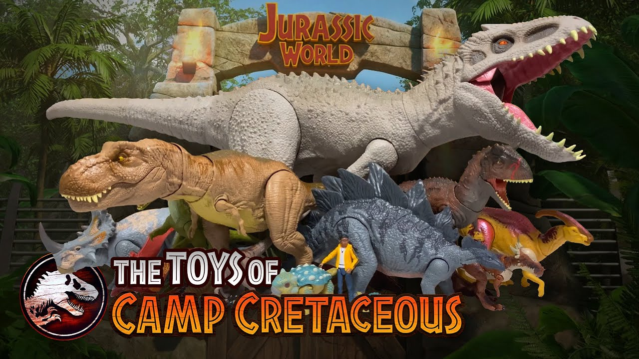The Toys Of Jurassic World Camp Cretaceous Collectjurassic Com Youtube Camp cretaceous seems very confident that a second season is on the horizon. the toys of jurassic world camp cretaceous collectjurassic com