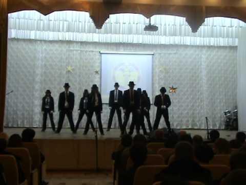 Michael Jacson. Plasta-fix танец в стиле Майкл Джексон. Dangerous