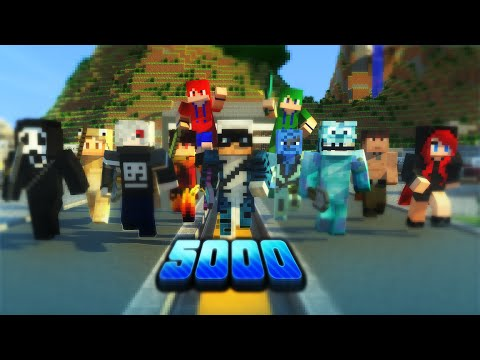 SPECIALE 5000 - 1 ORA DI SURVIVAL GAMES w/Youtubers - Kendal [60FPS]