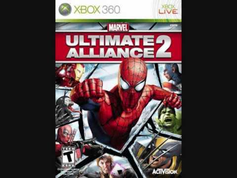Marvel Ultimate Alliance 2 Soundtrack The Attack of Mercenaries .wmv