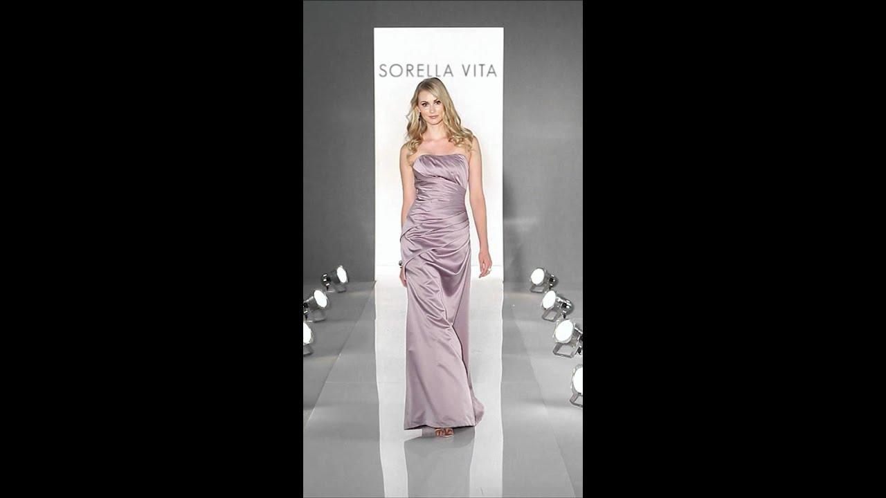 Bridesmaid Dress Sorella Vita 8107 Youtube