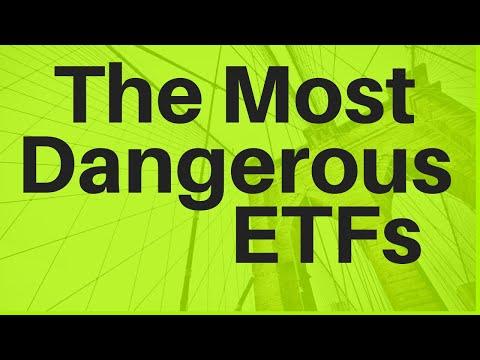The Most Dangerous ETFs (Leveraged ETFs, Oil ETFs, And More)