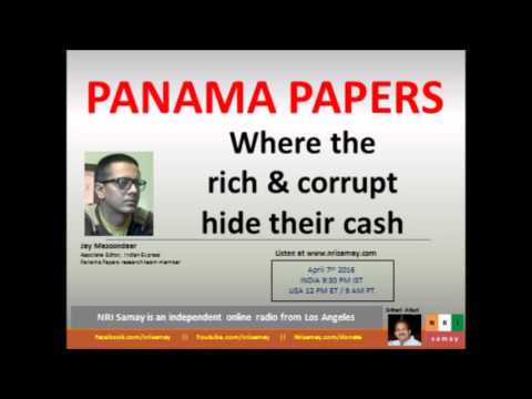 Panama Papers - Where the rich & corrupt hide their cash