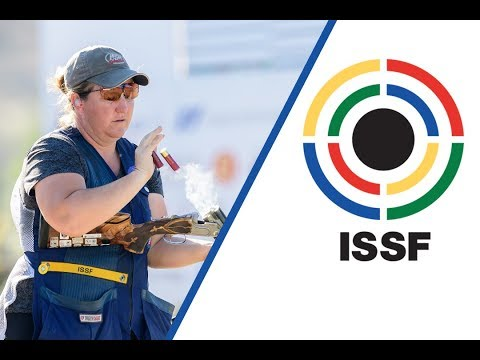 Interview with Kimberly RHODE (USA) - 2018 ISSF World Cup in Guadalajara (MEX)