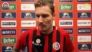 Manuel Schäffler nach dem Spiel vs. TSV 1860 München