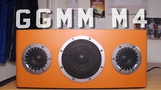 Best WiFi Bluetooth Speaker for £200 - GGMM M4 Speaker - Unboxing And Review (HD)
