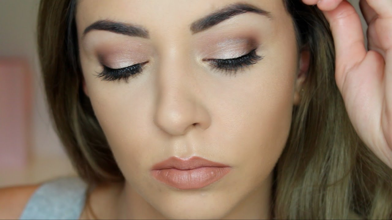 Bridal Bridesmaid Makeup Tutorial Hooded Eyes Youtube