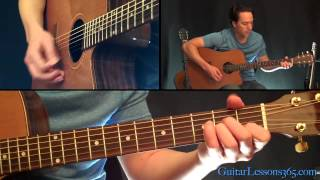 Simple Man Guitar Lesson Acoustic - Shinedown - Lynyrd Skynyrd