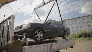 Купил распил из Японии Toyota Crown AthleteV