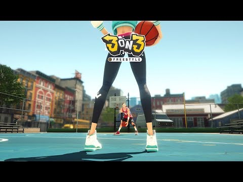 3on3 Freestyle (Free Online Basketball Game): Watcha Playin'? Gameplay First Look