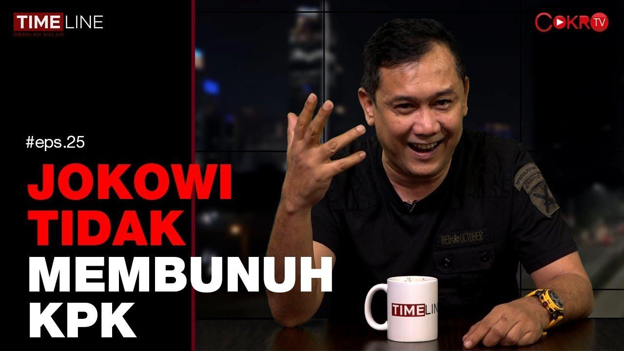 Denny Siregar: JOKOWI TIDAK MEMBUNUH KPK | TIMELINE - YouTube