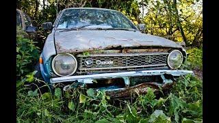 Брошенный Daihatsu Charade G10