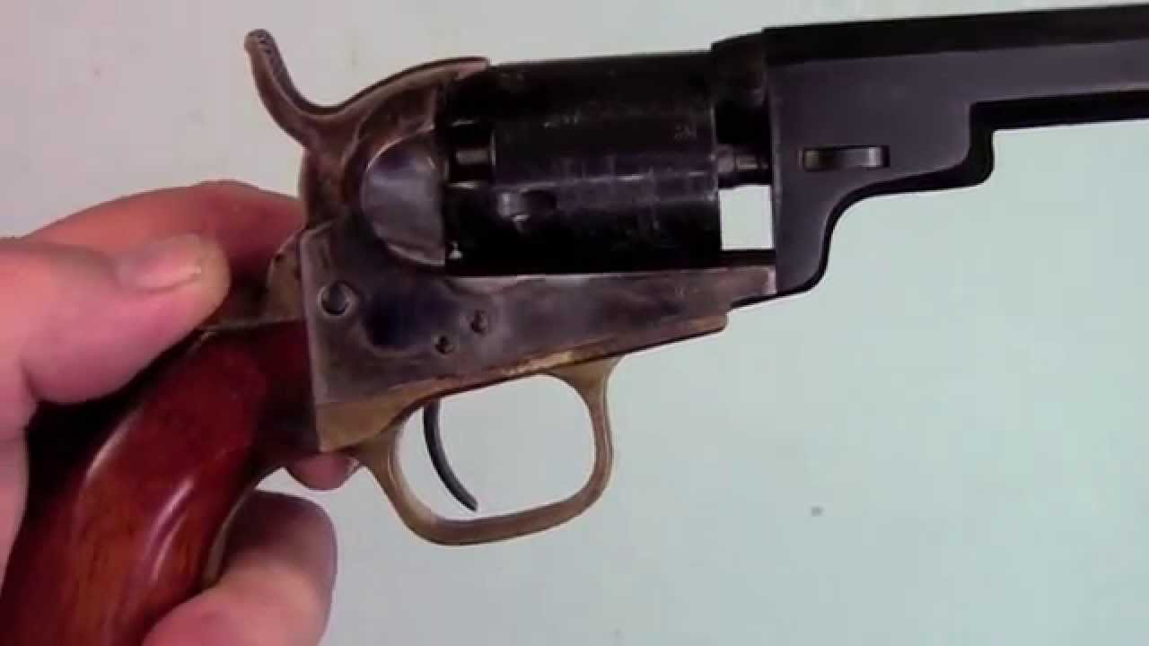 Shooting Colts 1849 Pocket Revolver Mov Youtube