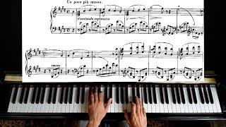 Liszt Consolation No. 2 - Piano Tutorial