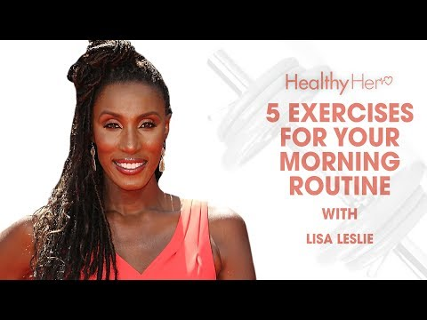 Lisa Leslie's Morning Workout Routine | Healthy Her