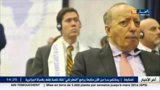 اللواء عثمان طرطاق  يظهر أمام عدسة الكاميرا في لقاء مفتوح أمام الصحافة الوطنية