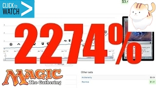 2,074% BULK Price Spike Magic the Gathering Cards