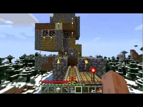 Экскурсия по строениям в minecraft