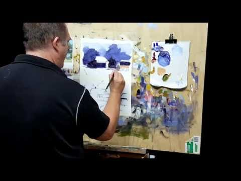 Acrylic Painting Tips #MooreMethod