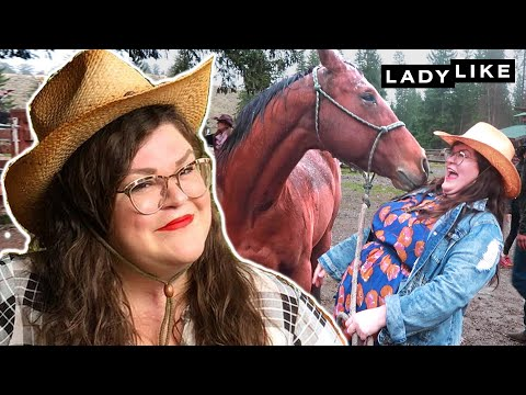Kristin Gets Over Her Fear Of Horses In Montana  Ladylike