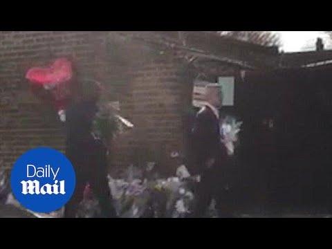 David Lammy and Sadiq Khan visit scene of Tottenham shooting