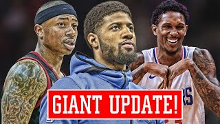 PAUL GEORGE THINKING ABOUT LEAVING! Isaiah Thomas LIED?? This SUCKS for Lou Williams   NBA News