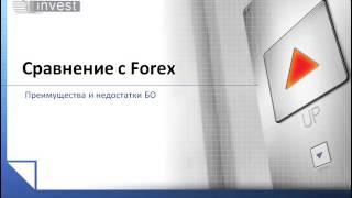 7  БО вводный курс   Урок 1   Сравнение с Forex