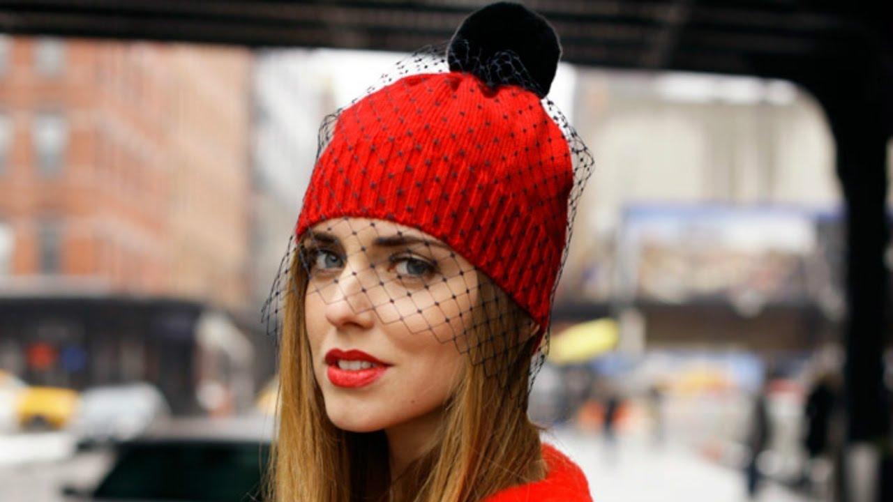 модные шапки 2017 вязаные шапки осень зима шапки из меха 2017
