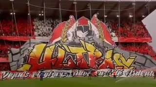 Les Ultras Inferno déploient à Sclessin le plus grand tifo jamais vu en Belgique