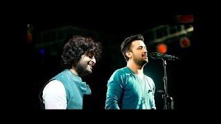 Arijit singh vs Atif Aslam live performance