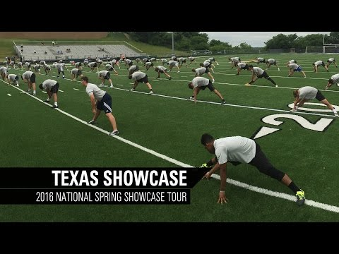 Talent Recap | 2016 Texas Spring Showase Camp