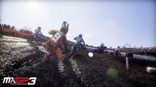 MXGP 3 Gameplay Deutsch #05 - Richtig bremsen mit dem Bike