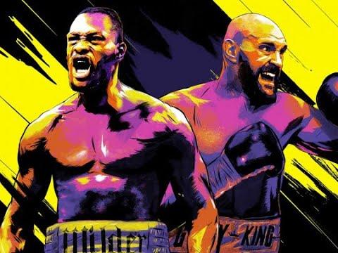 Бой Уайлдер-Фьюри реванш! Смотреть онлайн! Бой 23.02.2020! Бокс!