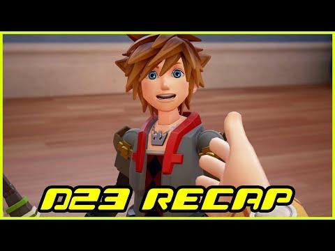 Kingdom Hearts III News Update - D23 2017 Recap