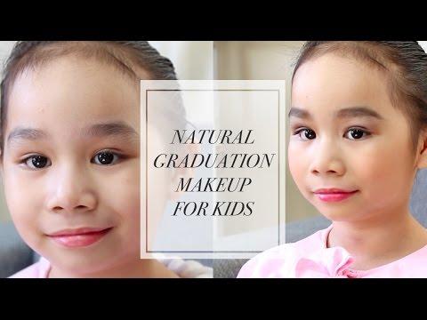 Natural Graduation Makeup For Kids Youtube