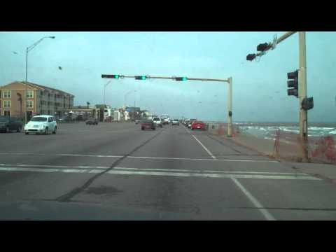GalvestonTx-Eastbound Seawall Driving-CaptKracker