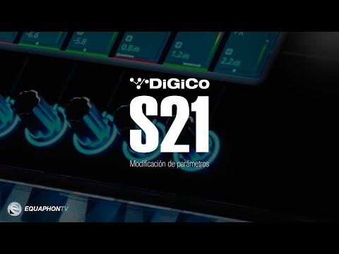 DiGiCo S21 - Modificación de parámetros