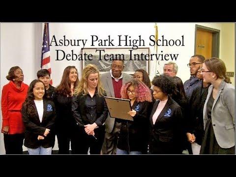 Asbury Park High School Debate Team Interview, February 2018