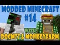 Modded Minecraft MFE and Mining Lasers!  Feed the Beast #14