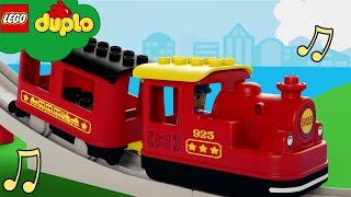 All Aboard the Train Song   LEGO DUPLO Nursery Rhymes   Cartoons and Kids Songs
