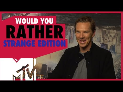 Doctor Strange Cast Play Would You Rather? Strange Edition  MTV